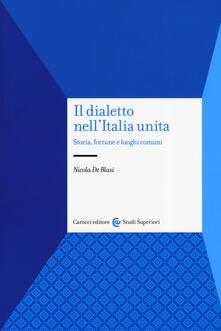 Nicocaradonna.it Il dialetto nell'Italia unita. Storia, fortuna e luoghi comuni Image