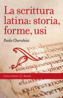 Laboratorioprovematerialilct.it La scrittura latina: storia, forme, usi Image