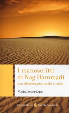 Winniearcher.com I manoscritti di Nag Hammadi. Una biblioteca gnostica del IV secolo Image