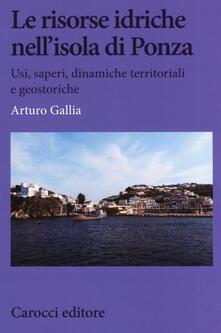 Squillogame.it Le risorse idriche nell'isola di Ponza. Usi, saperi, dinamiche territoriali e geostoriche Image