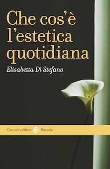 Che cos'è l'estetica quotidiana - Elisabetta Di Stefano - ebook