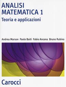 Analisi matematica 1. Teoria e applicazioni.pdf