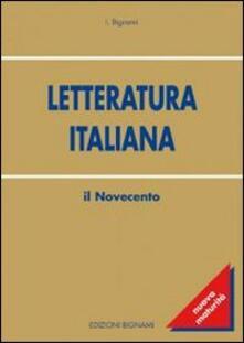Voluntariadobaleares2014.es Letteratura italiana. Il Novecento Image