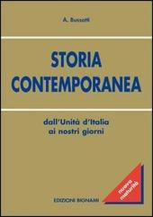 Storia contemporanea. Dall'Unità d'Italia ai nostri giorni