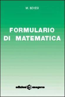 Formulario di matematica. Per le Scuole.pdf