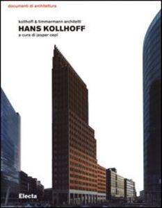Foto Cover di Hans Kollhoff, Libro di  edito da Mondadori Electa