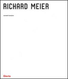 Libro Richard Meier Kenneth Frampton