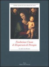 Fondazione Cassa di Risparmio di Perugia. Le sedi e la collezione