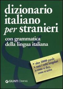 Dizionario italiano per stranieri - copertina