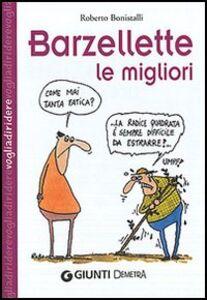 Foto Cover di Barzellette: le migliori, Libro di Roberto Bonistalli, edito da Giunti Demetra