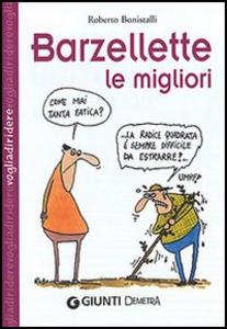 Libro Barzellette: le migliori Roberto Bonistalli