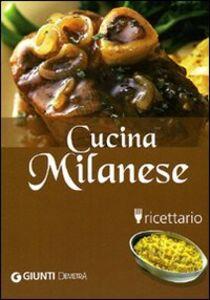 Libro Cucina milanese. Ricettario Elena Pigozzi