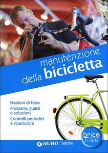 Camfeed.it Manutenzione della bicicletta. Nozioni di base. Problemi, guasti e soluzioni. Controlli periodici e riparazioni Image