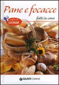 Foto Cover di Pane e focacce fatti in casa, Libro di  edito da Giunti Demetra