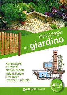 Steamcon.it Bricolage in giardino. Attrezzature e materiali, nozioni di base, vialetti, pergole, fioriere, interventi e progetti Image
