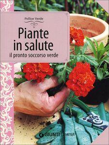 Foto Cover di Piante in salute. Il pronto soccorso verde, Libro di Lorena Lombroso,Simona Pareschi, edito da Giunti Demetra 0