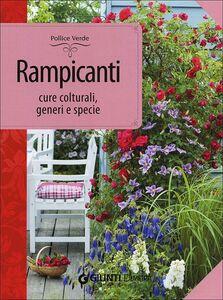 Libro Rampicanti. Cure colturali, generi e specie Margherita Lombardi 0