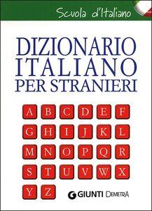 Foto Cover di Dizionario italiano per stranieri. Con grammatica della lingua italiana, Libro di  edito da Giunti Demetra