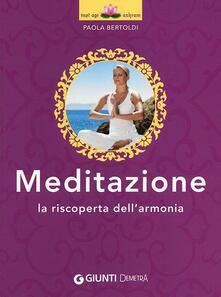 Meditazione. La riscoperta dellarmonia.pdf