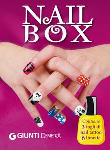 Antondemarirreguera.es Nail box. Con gadget Image