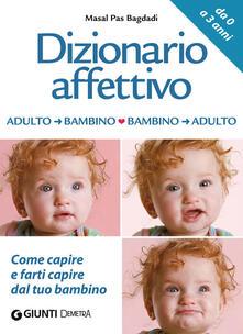 Lpgcsostenible.es Dizionario affettivo adulto-bambino bambino-adulto Image