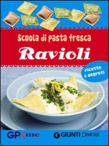 Lpgcsostenible.es Scuola di pasta fresca. Ravioli. Con gadget Image