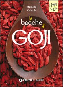 Libro Le bacche di Goji Marcella Valverde