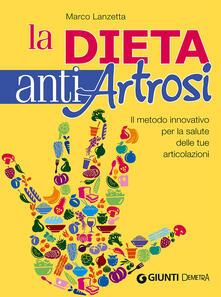 Squillogame.it La dieta anti artrosi. Il metodo innovativo per la salute delle tue articolazioni Image