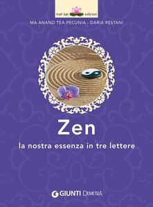 Listadelpopolo.it Zen. La nostra essenza in tre lettere Image