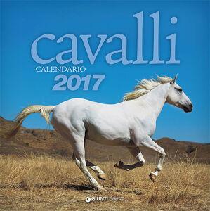 Foto Cover di Cavalli. Calendario 2017, Libro di  edito da Giunti Demetra