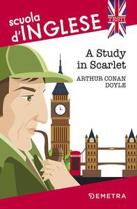 A study in scarlet - Arthur Conan Doyle - copertina