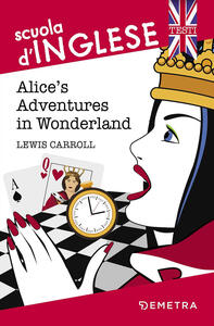 Alice's adventures in Wonderland - Lewis Carroll - copertina