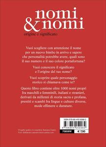 Nomi & nomi. Origine e significato - 2