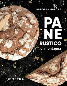Pane rustico di montagna - copertina