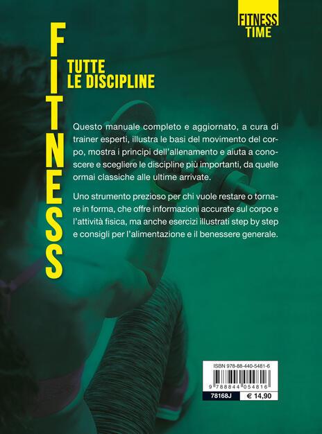 Fitness Tutte Le Discipline Andrea Turri Libro Demetra Fitness Ibs