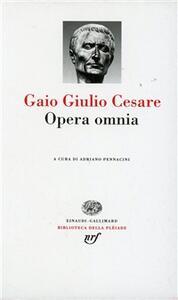 Opera omnia - Gaio Giulio Cesare - copertina
