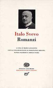 Libro Romanzi Italo Svevo