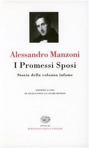 I Promessi sposi-Storia della colonna infame - Alessandro Manzoni - copertina