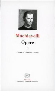Opere. Vol. 2: Lettere, legazioni e commissarie. - Niccolò Machiavelli - copertina
