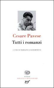 Tutti i romanzi - Cesare Pavese - copertina