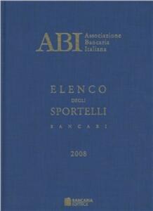 Annuario delle banche e finanziarie 2008 - copertina
