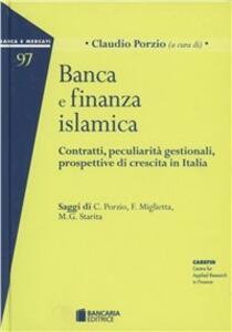 Banca e finanza islamica - Claudio Porzio - copertina