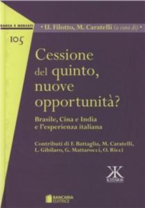 Libro Cessione del quinto, nuove opportunità?