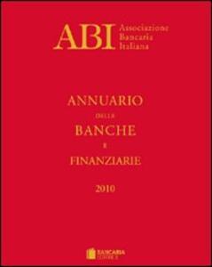 Annuario delle banche e finanziarie 2010 - copertina