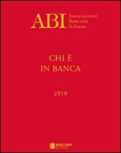 Chi è in banca 2010 - copertina