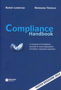 Compliance handbook. La funzione di compliance secondo le nuove disposizioni normative - copertina