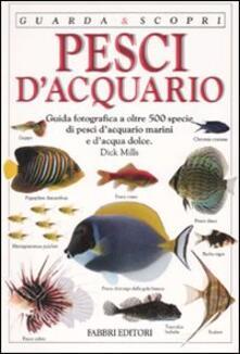 Pesci d'acquario - Dick Mills - copertina