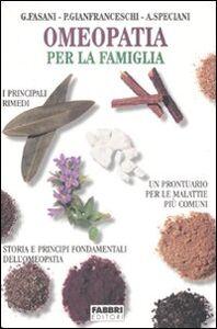 Libro Omeopatia per la famiglia