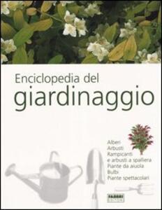 Enciclopedia del giardinaggio - copertina