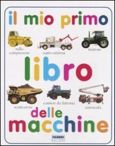 Il mio primo libro delle macchine - copertina